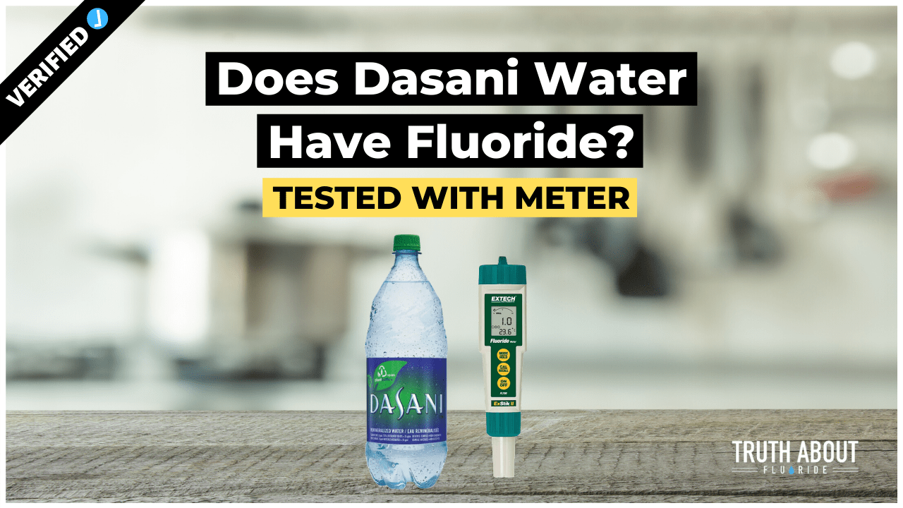 does dasani water have fluoride?