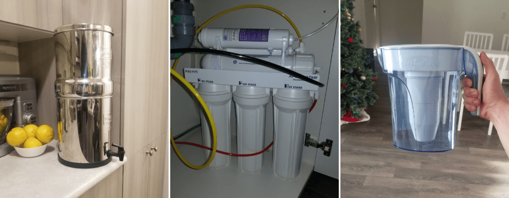 three water filters that remove fluoride