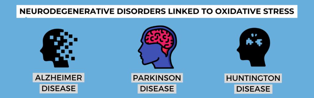 Neurodegenerative disorders linked to oxidative stress