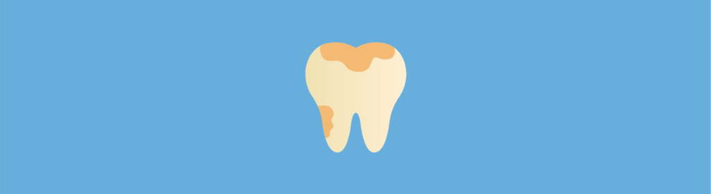 icon of tooth with a cavity