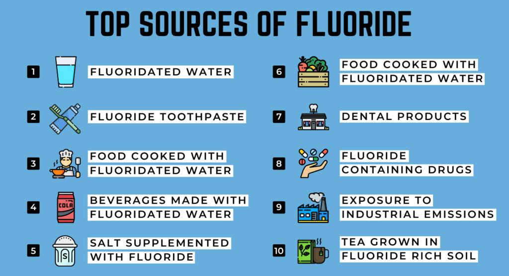 top sources of fluoirde