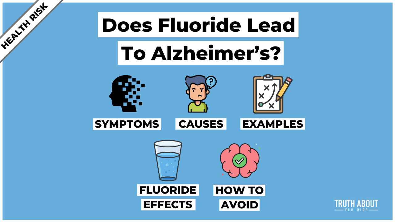 does fluoride lead to alzheimer's?