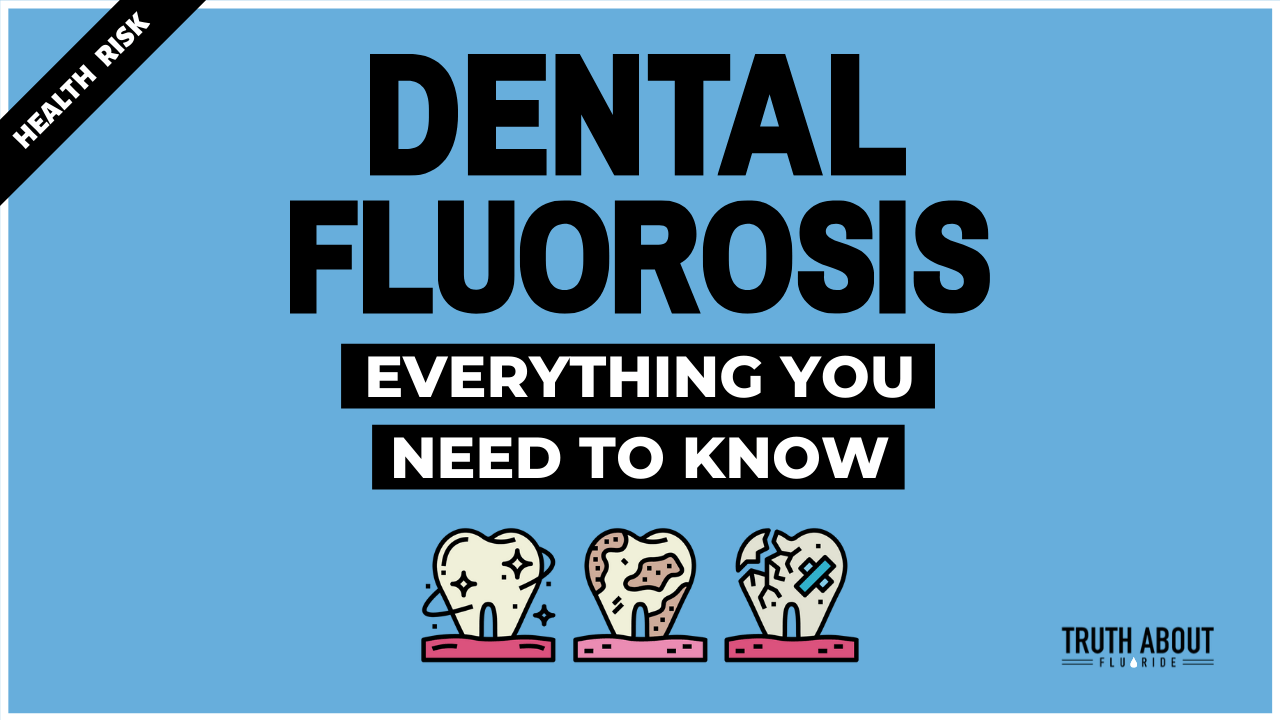 Dental fluorosis everything you need to know