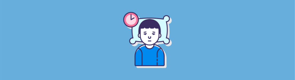 man sleeping icon