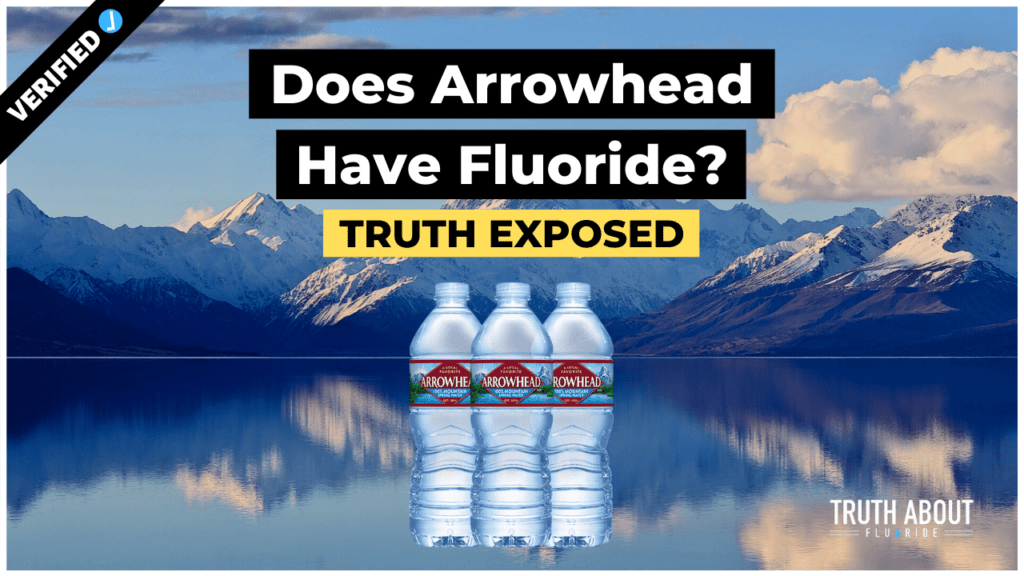 does arrowhead water have fluoride?
