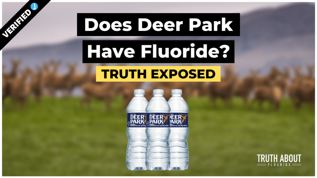 does deer park water have fluoride?