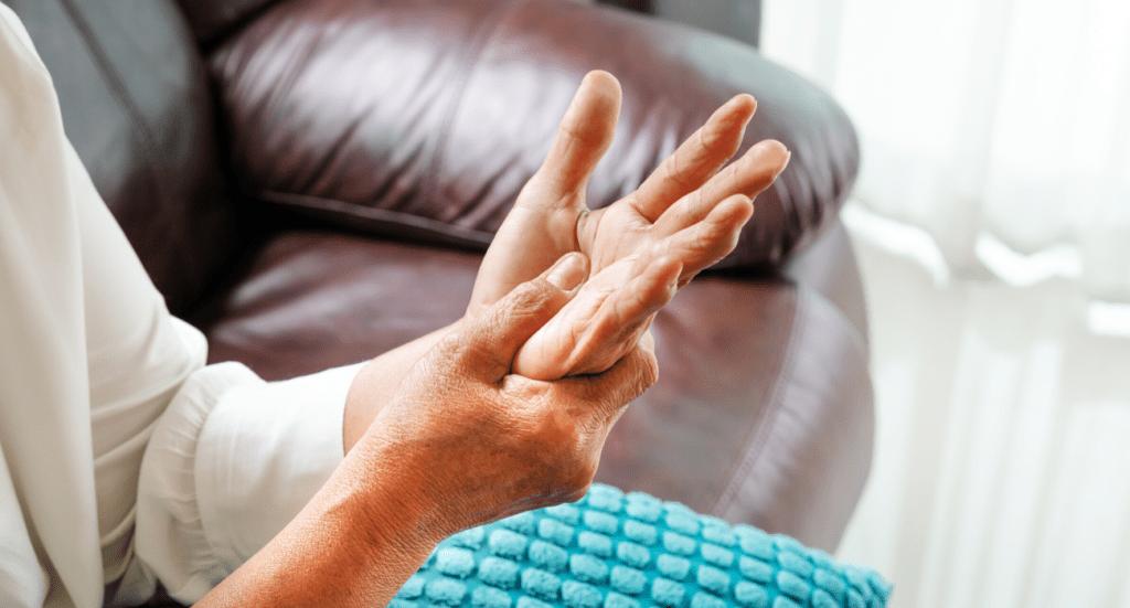 arthritis pain in hand