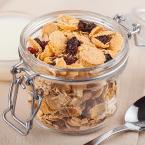 food high in fluoride: raisin bran