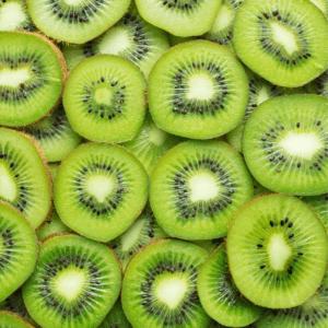 food low in fluoride: kiwi