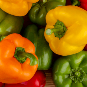 food low in fluoride: peppers