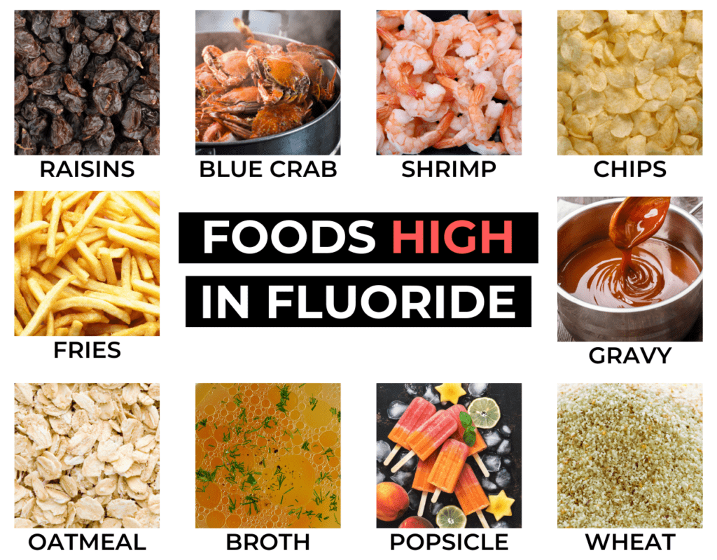 foods that contain fluoride, foods high in fluoride.