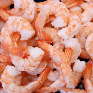 food high in fluoride: shrimp