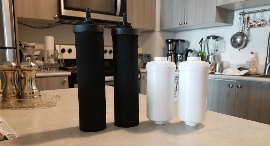black and white berkey filters