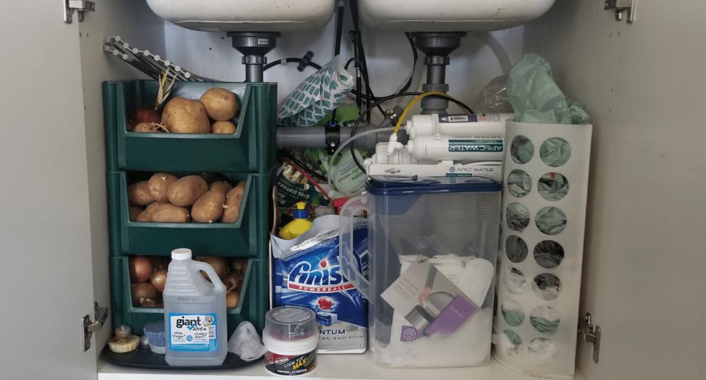 reverse osmosis system under sink