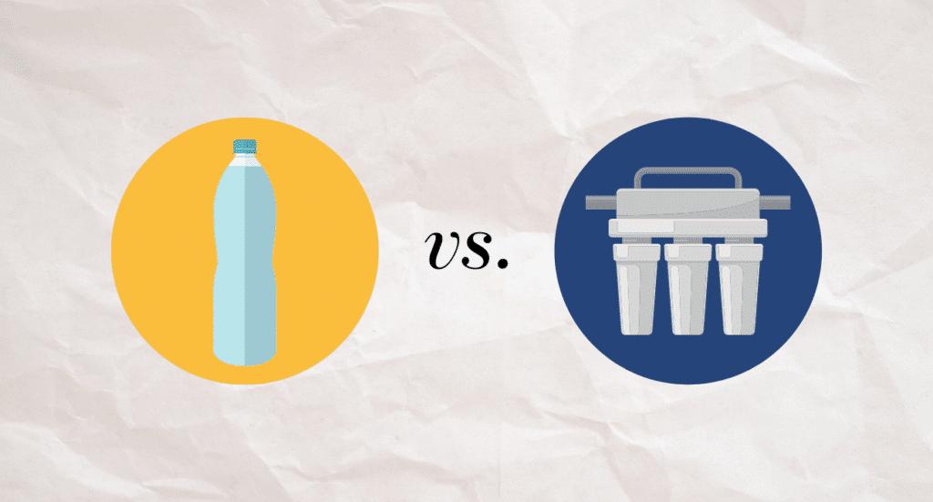 bottled water vs reverse osmosis system