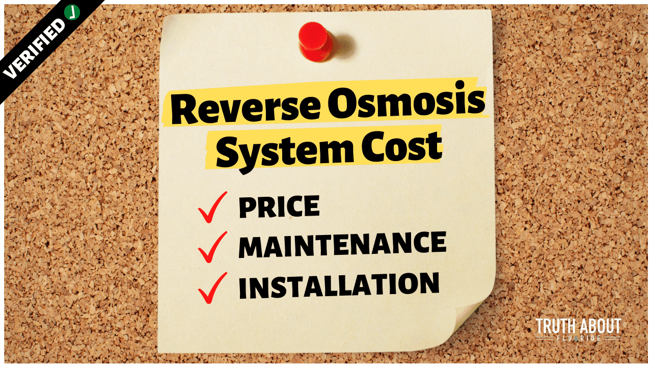 reverse osmosis system cost (price, maintenance, installation)