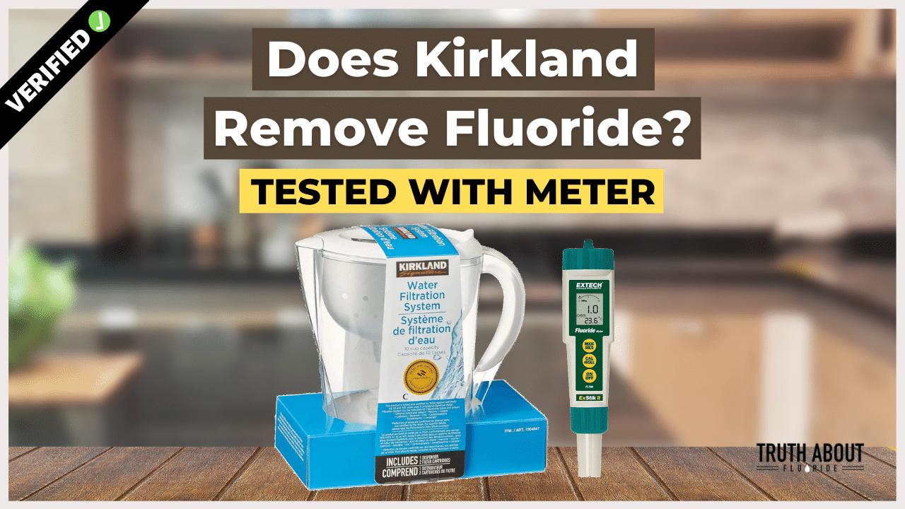 do kirkland water filters remove fluoride