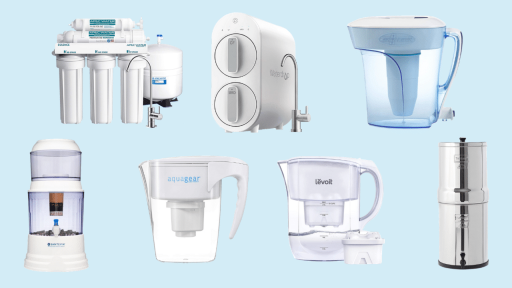 water filters that remove fluoride