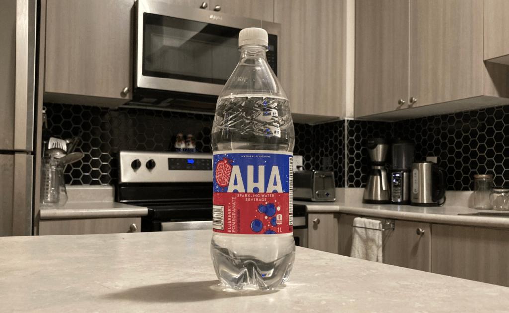aha bottled water