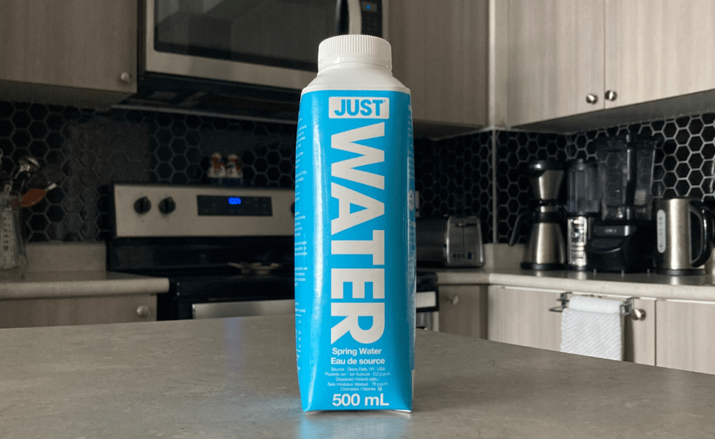 just water bottled water