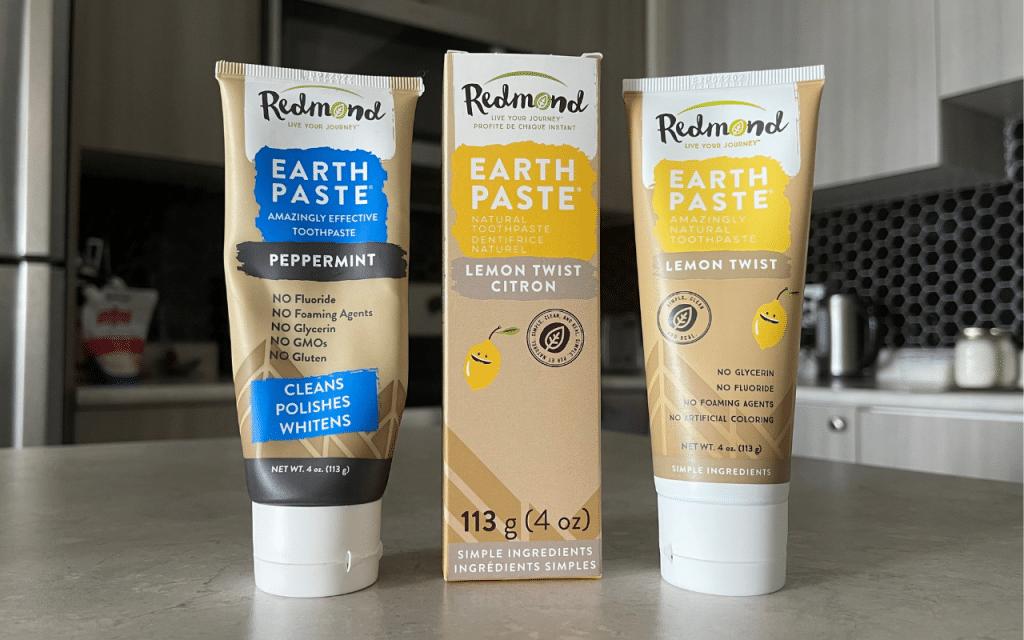 redmond fluoride free toothpaste
