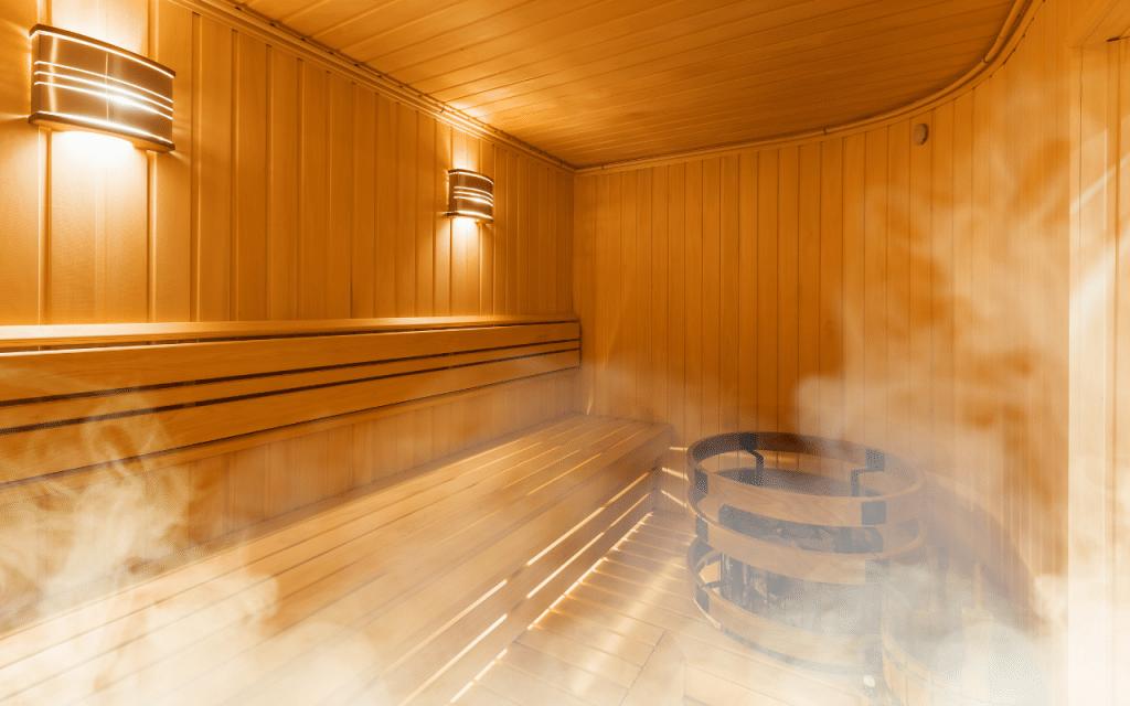 sauna for fluoride detox